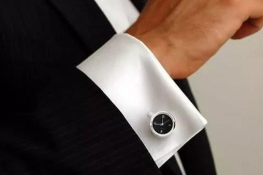 А вы умеете носить запонки?